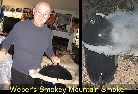 My Weber Smokey Mountain Smoker