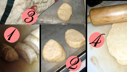 process of making cracker bread