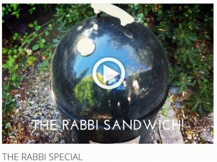 the Rabbi Sandwich courtesy of the Nautical Bean!