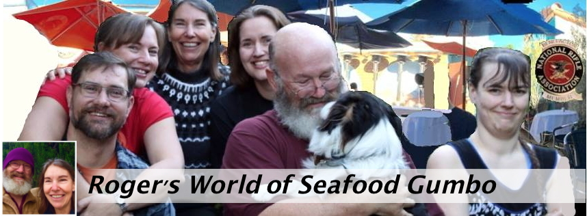 Roger's View of the World, Love and Seafood Gumbo!